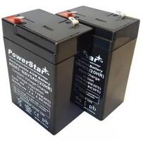 BatteryGuy Battery BG-645F1-6V 4.5AH Replacement for Yuntong YT-660 Battery